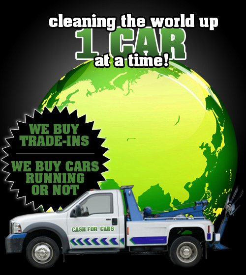 Cleaning the world up 1 CAR at a time!